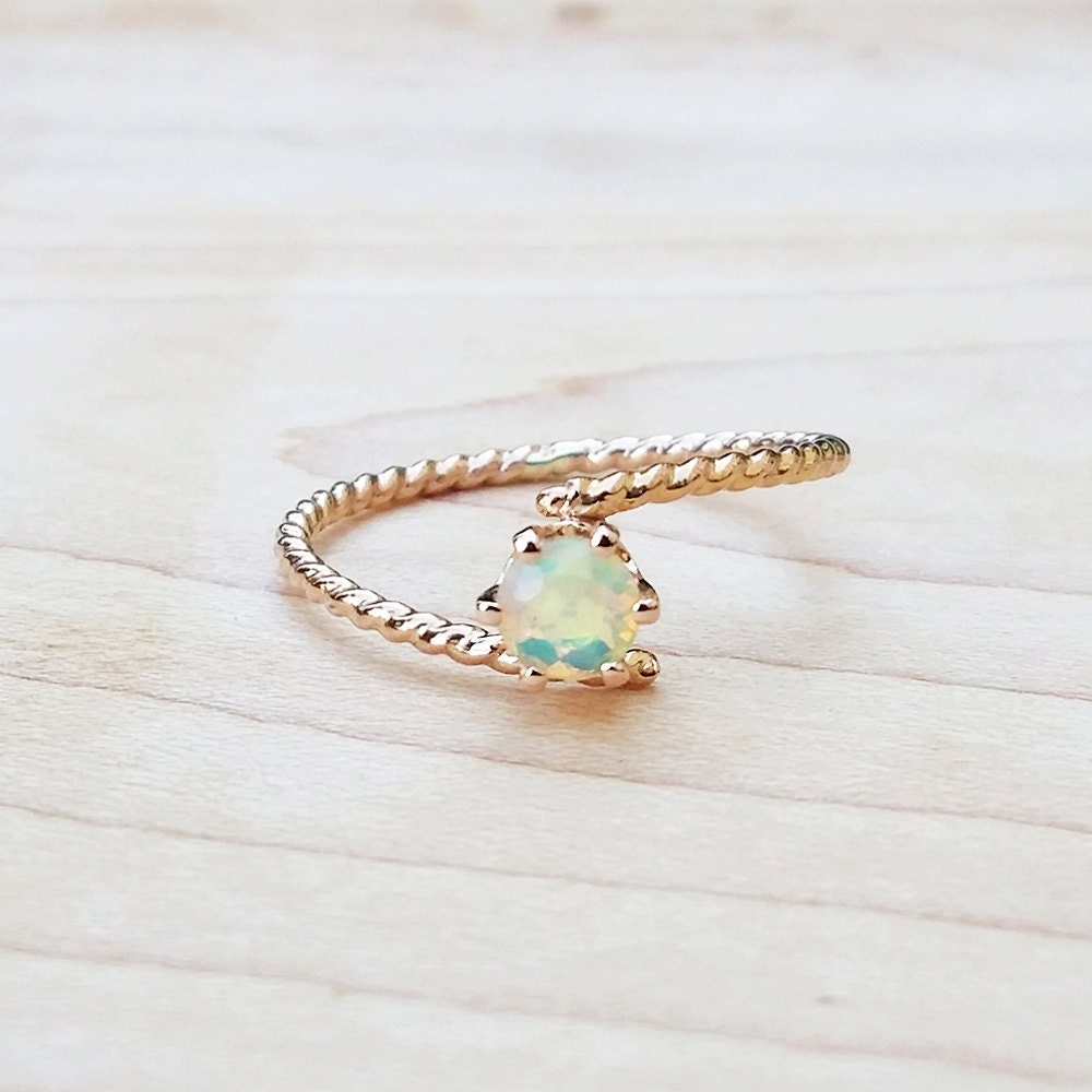 opal gold ring dainty rings jewelry birthstone gemstone cute. Black Bedroom Furniture Sets. Home Design Ideas
