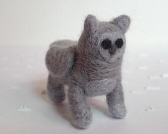 Felted Stone Grey Gwiffin