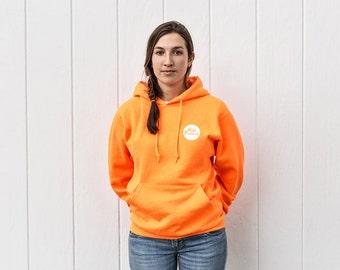 Nature Buddy Safety Fleece Hoodie in Blaze Orange (Adult)