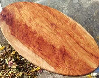 Oval Pecan Cutting Board