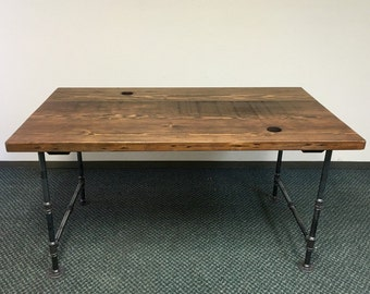 Handmade Reclaimed Wood Office Table