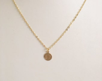 Small Saint Benedict Chain Necklace