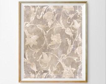 Gray digital art Gray wall art décor Gray art décor Gray wall art print Gray bedroom Gray printable art Gray art print Gray art Gray damask