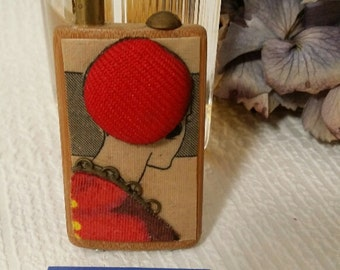 PIN red wood