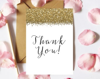 Thank You Card Printable, Printable Card, DIY cards, Thank You Cards, Card Making, Wedding Thanks Card, Digital Download, Instant Download