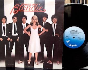 Rock LP -  Blondie - Parallel Lines, Chrysalis, Lyric Sleeve