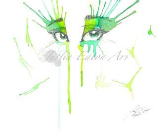 Spring Eyes Deluxe Print