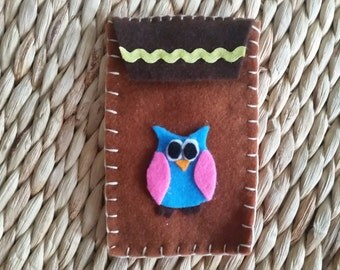 Felt phone case - Phone accessories - Christmas Gift - Birthday gift - Phone case