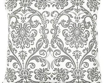 Kelp Gray Decorative Throw Pillow Slip Cover