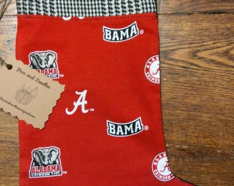 Alabama Crimson Tide Christmas stocking