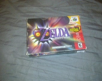 Nintendo 64 N64 Legend of Zelda majora's mask box only