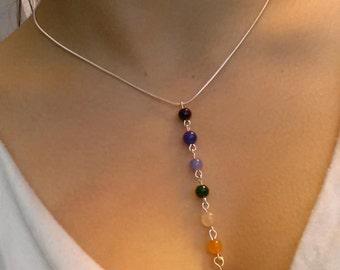 Chakra Balance Bead Necklace