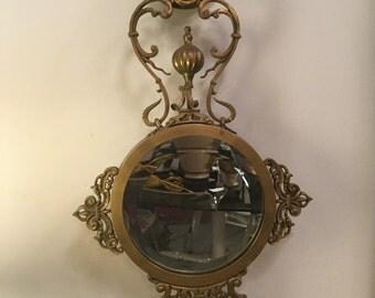 John Richards Bronzed Lion Mirror