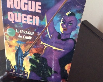 "Pulp Fiction Paperback ""Rogue Queen"" by L. Sprague de Camp"
