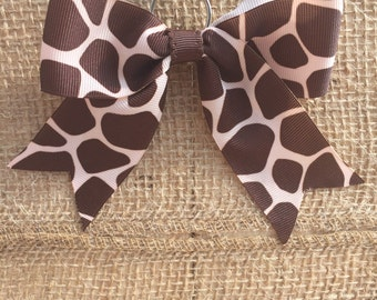 Giraffe Back-Pack Bow