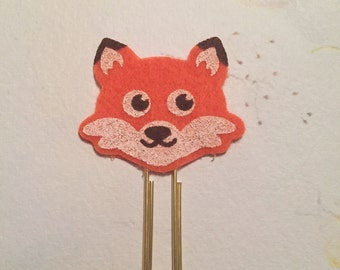 Paperclip fox face