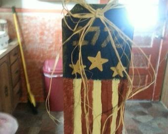1776 Americana wall hanging