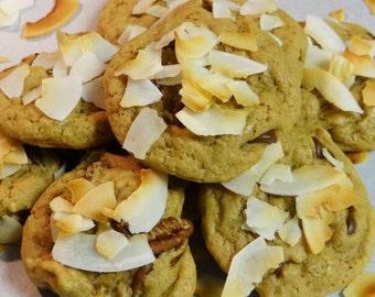Vegan Chocolate Chip, Coconut, Pecan Cookies (PecaNut Chip)