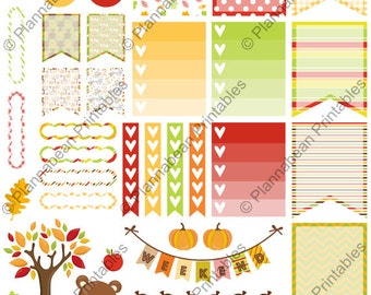 Little Fall Planner Printable - For Personal Use Only