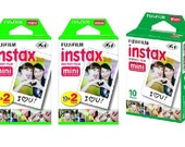 New Best Price! Fujifilm Instax Instant Film 10 Sheets x 5 packs for Mini 8 Camera - NEW - FAST SHIPPING!!!