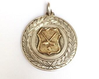 Irish Silver Medal - Inscribed