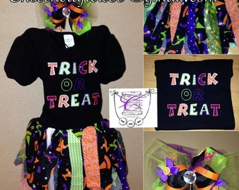 TRICK or TREAT outfit
