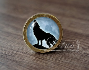 Wolf Knobs Etsy