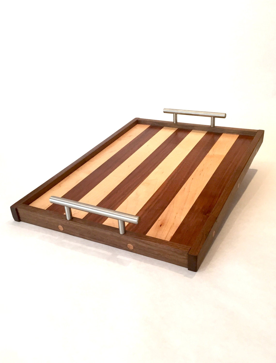 Wooden Bar Tray by WoodhouseCo on Etsy