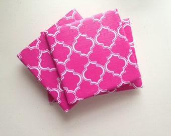 Regal Pink Ceramic Coasters