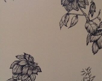 Blossom writing paper