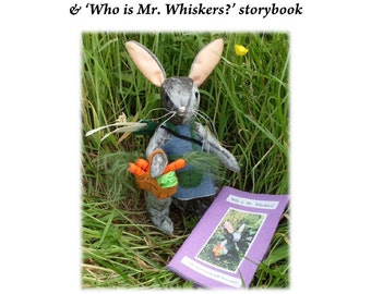 Collectible Soft Toy Kit.  Riverbank Farm Kit No. 1, Mr Whiskers
