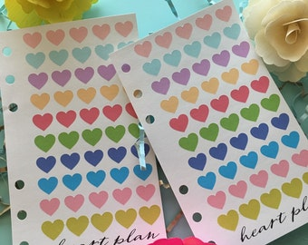 Heart Stickers!