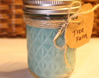 Tree Farm Soy Candle 8oz Mason Jar
