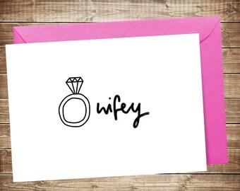 Wifey Card