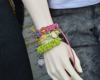 Preorder! Set - Cotton cord Bracelet ( BJD SD SOOM)