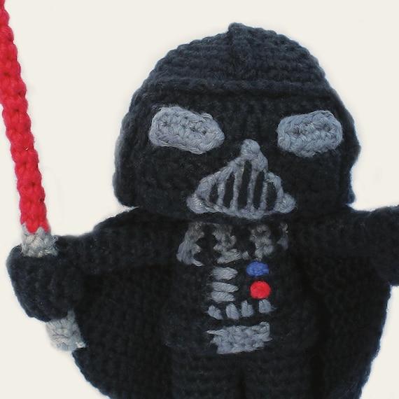 Darth Vader Star Wars. Amigurumi Pattern PDF DIY Crafts
