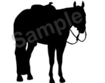 Items similar to Palomino Quarter Horse Print of original ...