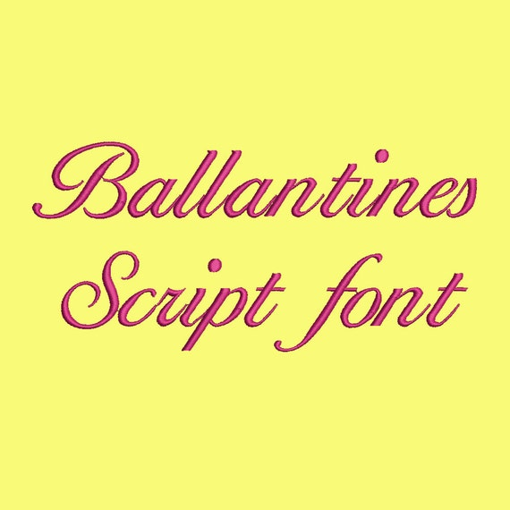 Download Free Font Ballantines-Regular - wfonts.com
