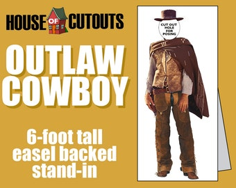 Outlaw Cowboy Stand-In