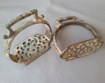 Antique Afghan Handcrafted horse saddle stirrup