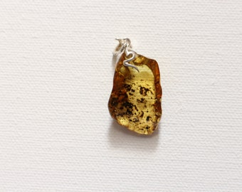 Baltic natural amber pendant