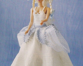 Lucy, Fashion Doll Clothes Crochet Pattern Pages BYOB Build Ur Own Binder of Favorites