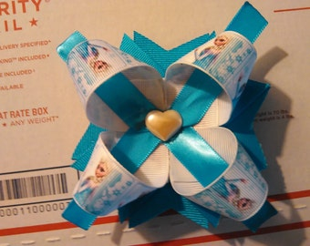 "Frozen ""Simple"" Hair Bow"
