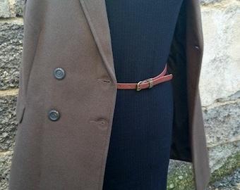 Dress casual sleeveless asymmetric, black, mesh, ribbed milano