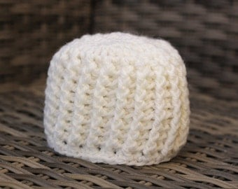 Crochet hat, ribbed hat, baby girl hat, baby boy hat, crochet beanie. photo prop. MADE TO ORDER