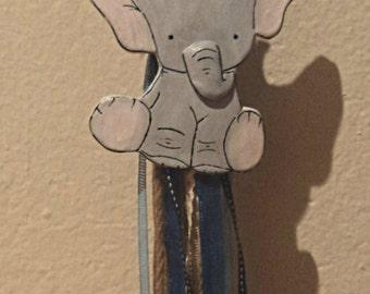 Λαμπάδα βάπτισης cute elephant. Παράδοση μόνο σε Θεσσαλονίκη δωρεάν.