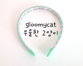Twisted color hair band (3 in a pack) made by gloomycat