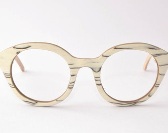 FUNKY: Vintage Wooden Glasses & Sunglasses