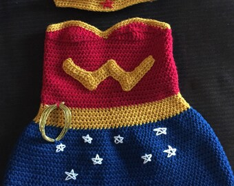 Wonder woman photo prop
