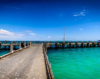 Jetty Lancelin - WA - Print